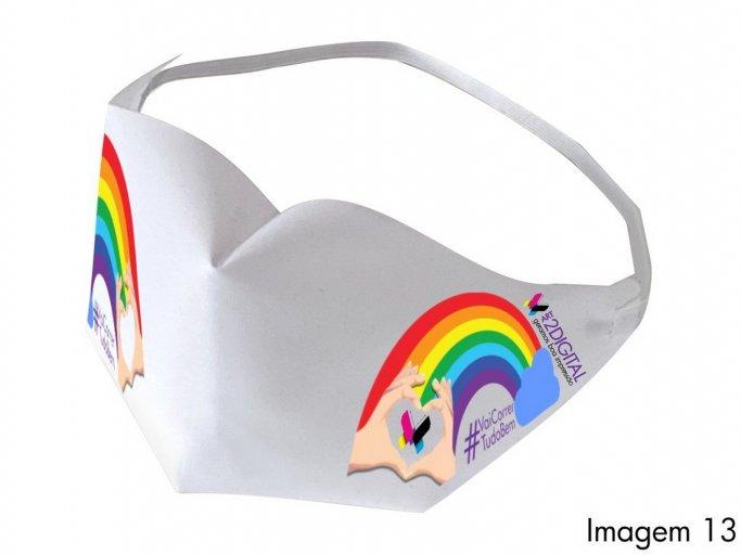 Pack 50 X Máscaras de Tecido Personalizada