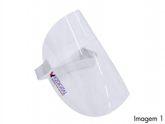 Pack 10 X Viseiras de Proteção Facial em PETg